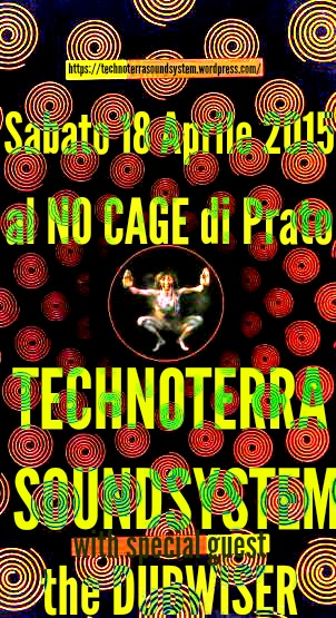 technoterra al No Cage Aprile 2015